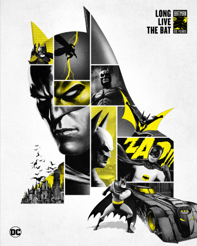 Batman 80th Anniversary Key Art (Graphic: Business Wire)