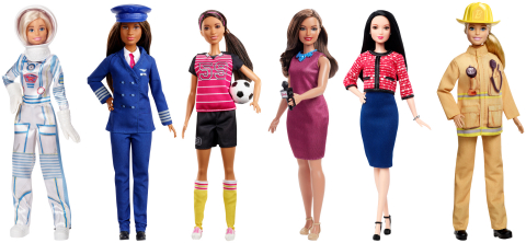 Barbie Celebrates 60 Years with the 'Be Anything' Traveling Tour at Walmart Stores. (Photo: Business Wire)