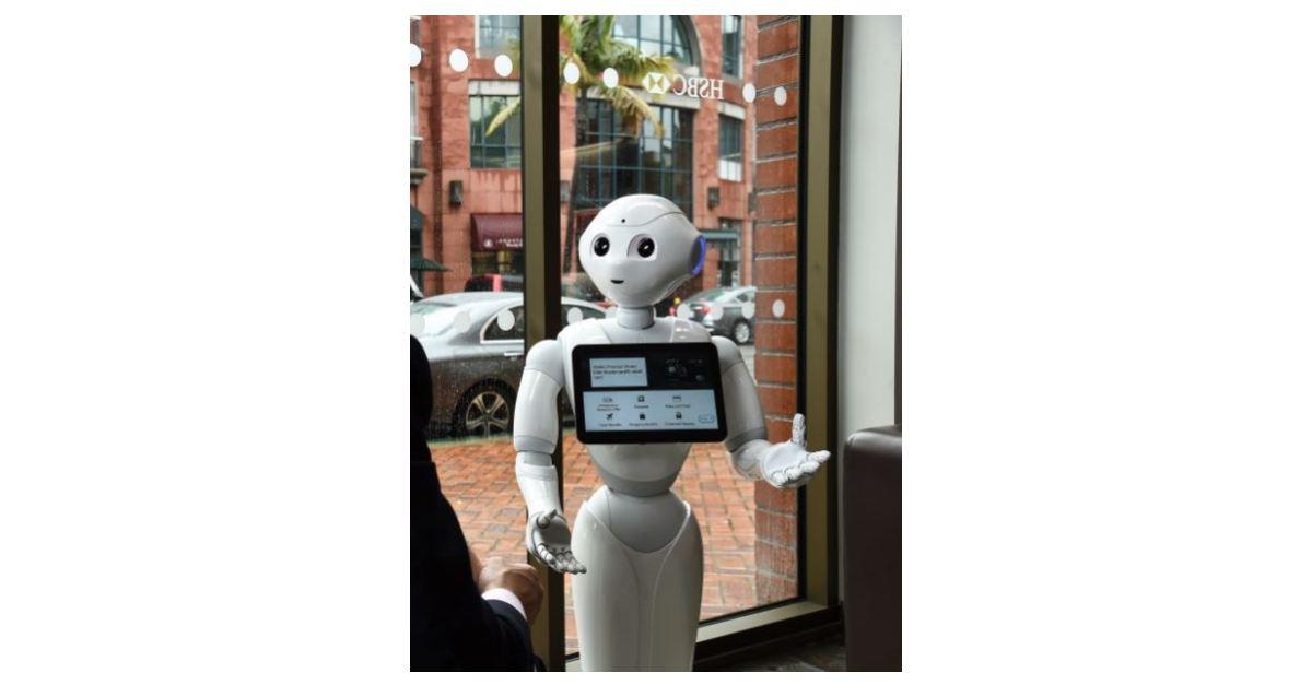 HSBC Bank and SoftBank Robotics America Enhance Beverly