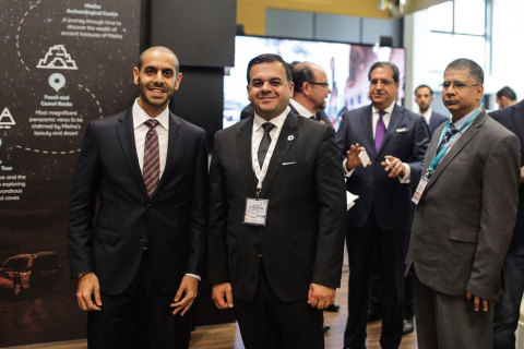 During the official announcement on the Sharjah Pavilion at ITB Berlin 2019 (Photo: Shurooq)
