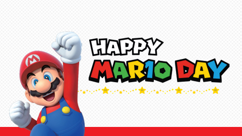Every year, people celebrate the mustached hero of the Mushroom Kingdom, Mario, on March 10, aka Mar10 Day. For this year's celebration, Nintendo is offering a special deal on select Mario games for the Nintendo Switch system. (Photo: Business Wire)