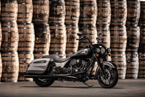 Jack Daniel's Limited Edition Indian Springfield Dark Horse (Photo: Business Wire)