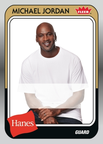 To celebrate the 30th year of the basketball legend and his favorite underwear brand, Hanes is launching a promotion designed to be a slam dunk for consumers. Beginning March 11, more than 800,000 specially marked bonus packs of Hanes men's underwear, including Comfort Flex Fit boxer briefs, will contain a pack of 30th Anniversary Michael Jordan trading cards. Ten lucky consumers will find this rare Michael Jordan autograph card with his signature in their packs. (Photo: Business Wire)