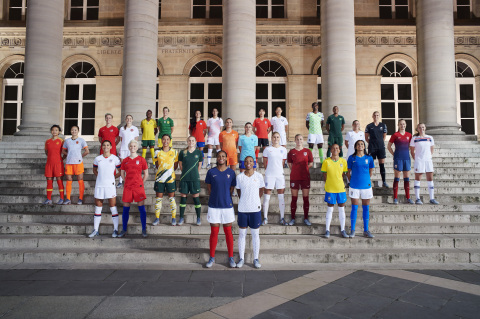 28 of the world's top footballers joined Nike (NKE: NYSE) in Paris to unveil 14 National Team Collec ...