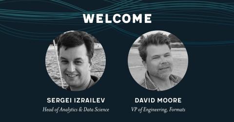 Sergei Izrailev and David Moore (Photo: Business Wire)