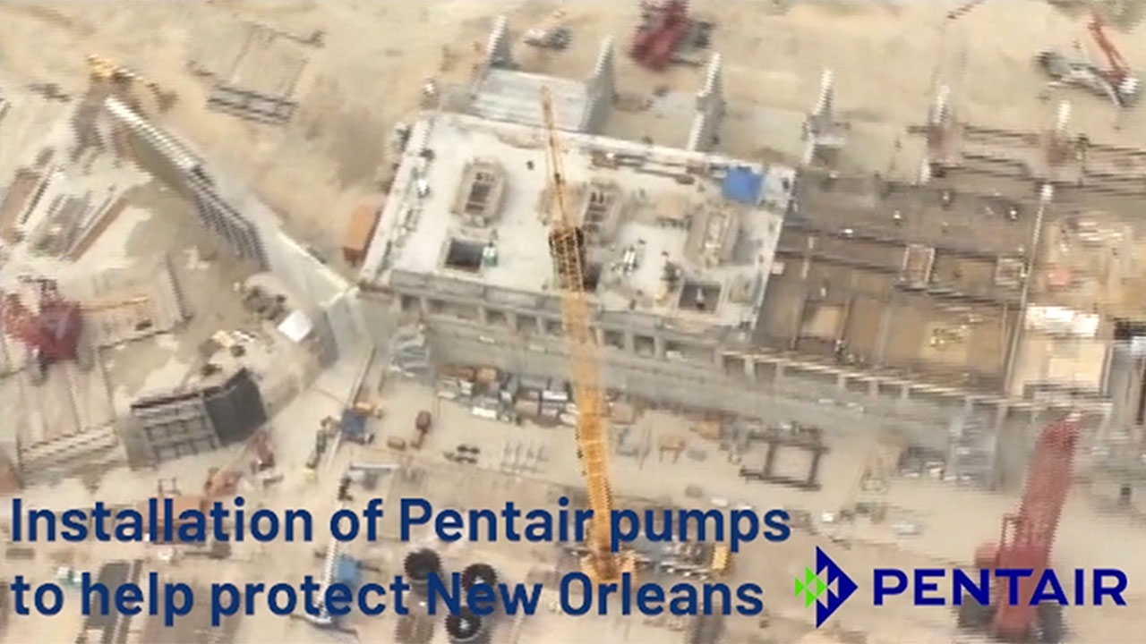 Sdano led Pentair's engineering efforts at world's largest pumping station to help protect New Orleans.