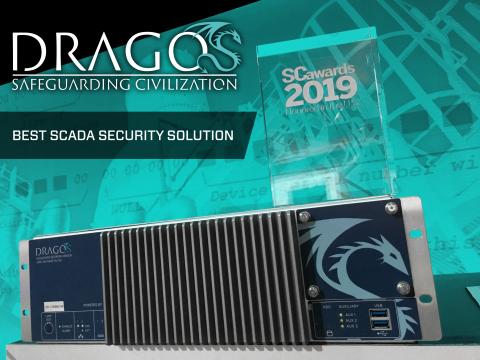 Dragos SC Media Best SCADA Solution Winner (Graphic: Business Wire)