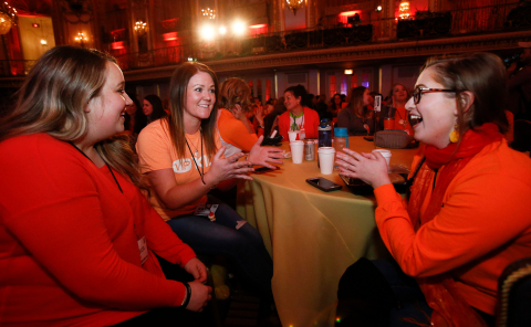 Teachers participating in VIPKid's fourth regional Journey conference in Chicago, March 9, 2019 (Photo: Business Wire)