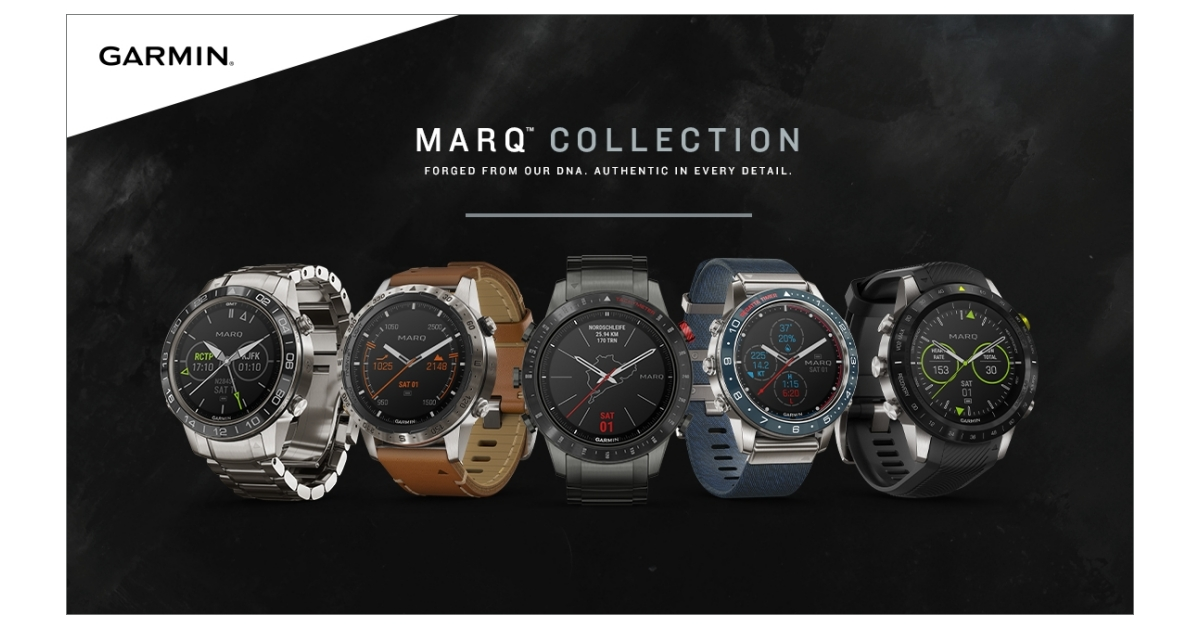 Garmin® unveils the MARQ series: a collection of lifestyle