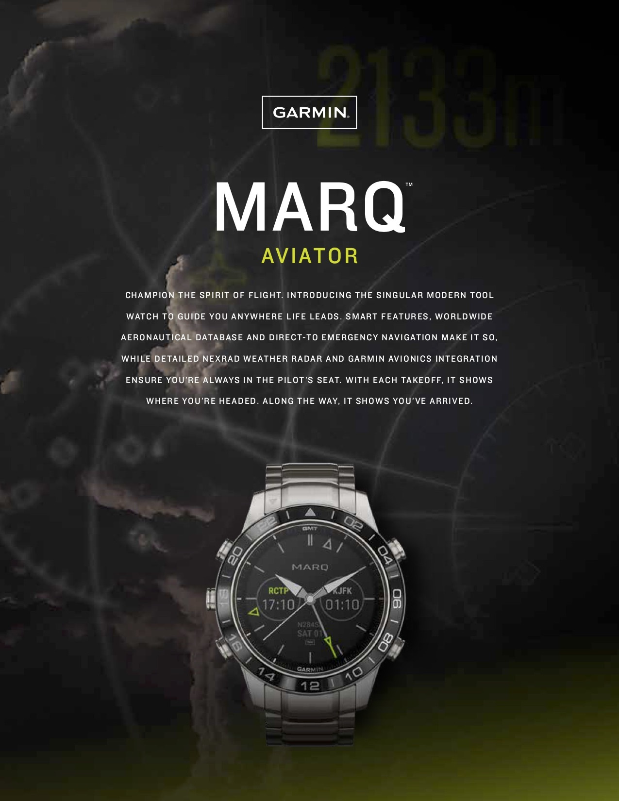 Garmin® unveils the MARQ series: a collection of lifestyle inspired