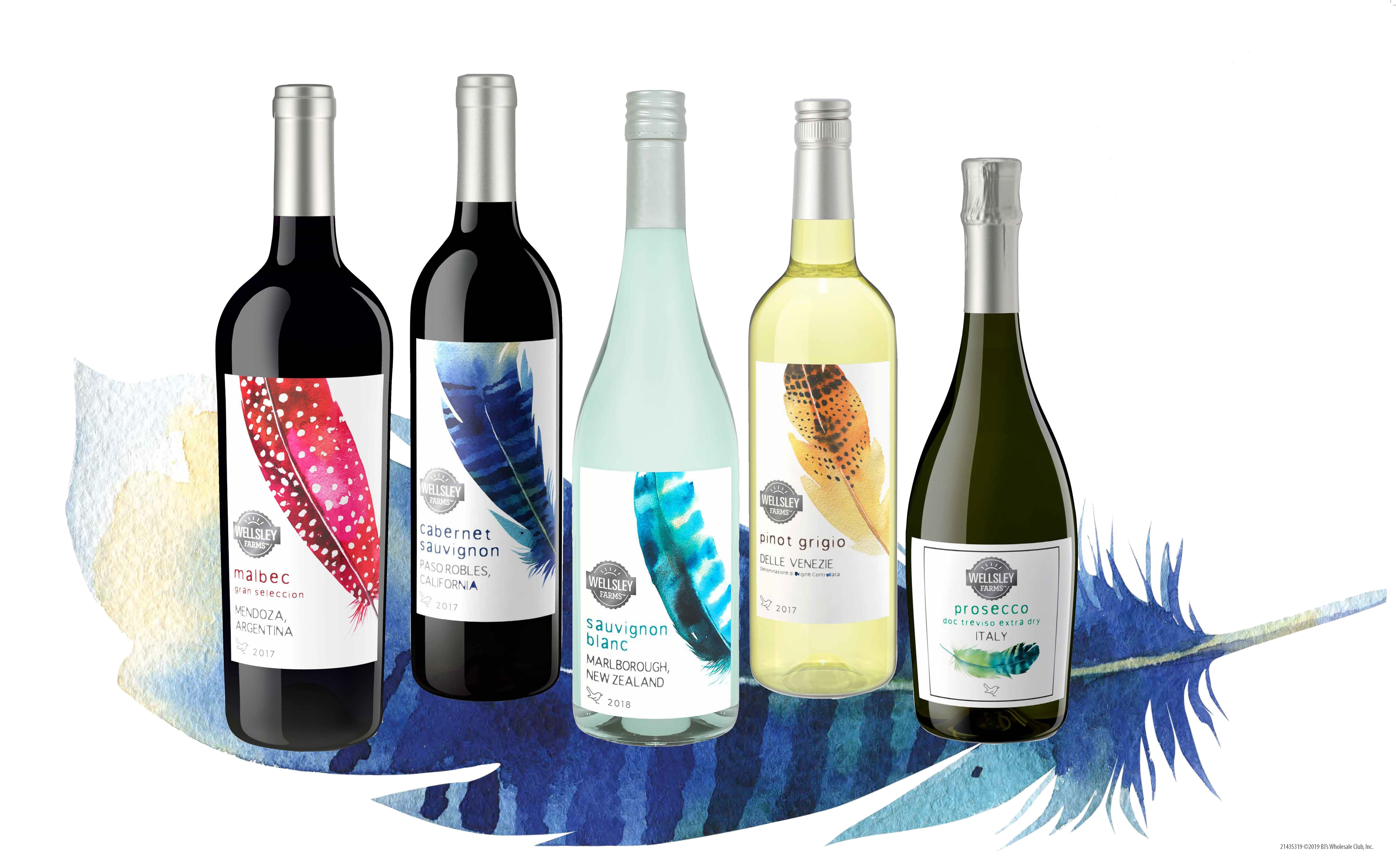 BJ's Wholesale Club Offers New Wellsley Farms Wines From Around the
