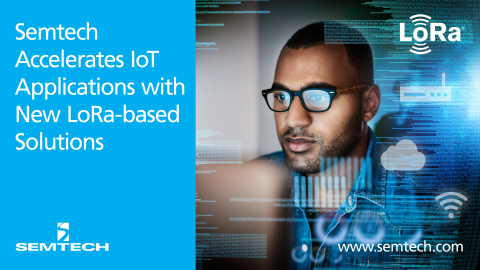 Semtech Simplifies IoT Applications with Release of LoRa®-based Solution Accelerators (Photo: Busine ...