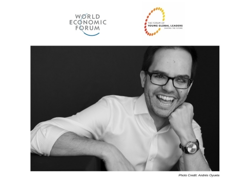 Carlos Reines, President and Co-founder of RubiconMD, named Young Global Leader by the World Economic Forum (Photo: Business Wire)