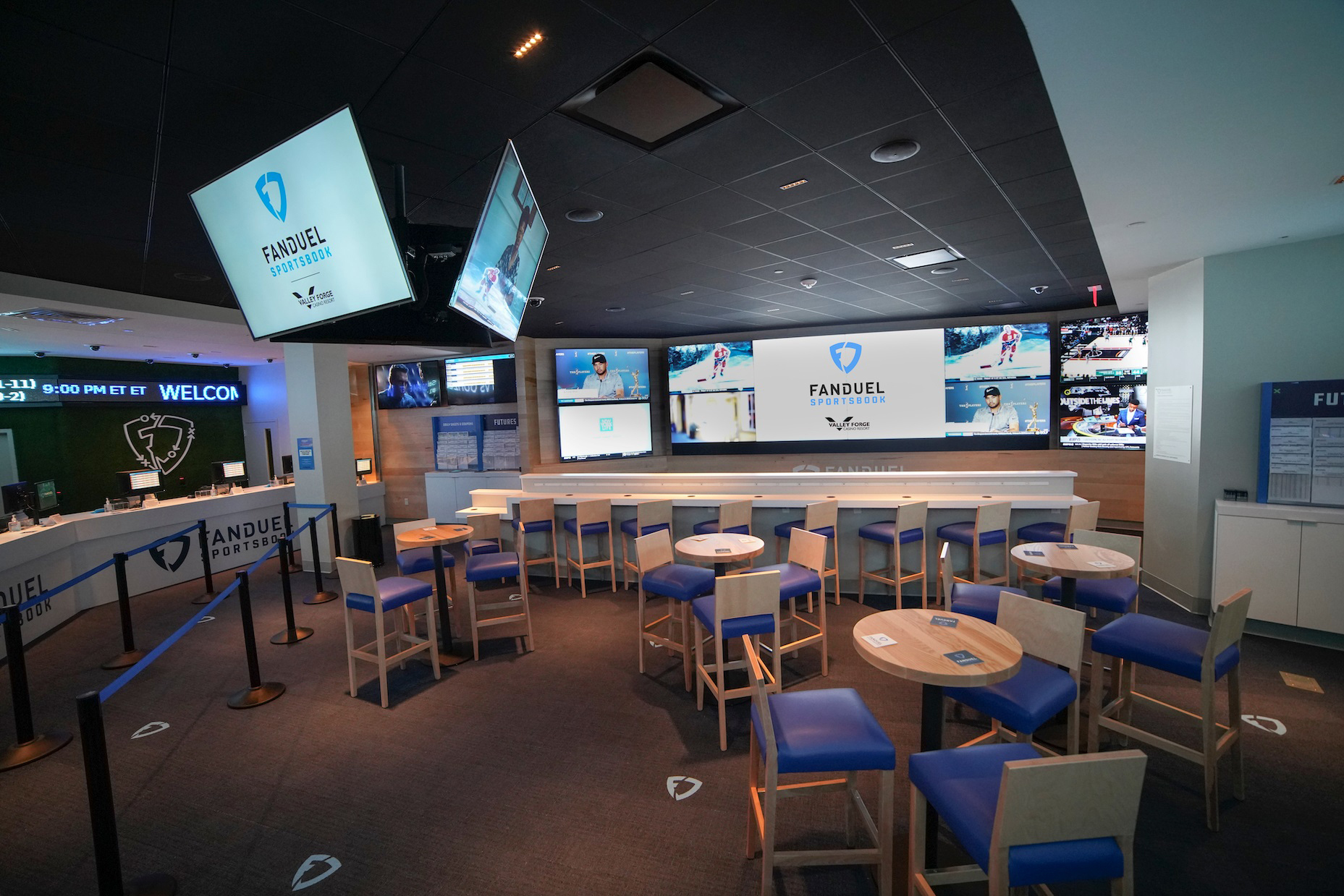 Sports betting at valley forge casino ufc 183 betting lines