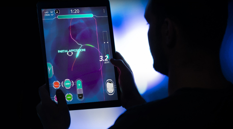 Physicians can download Cardio Ex for free from the App Store and play rare and complex cases anywhere at any time from their mobile devices. (Photo: Business Wire)