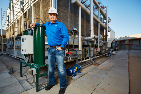 Dynamic Water Technologies' CEO, Mike Boyko, was recently featured in the Phoenix Business Journal. The article quoted the chief corporate engineer of Banner Health in saying that the planned implementation of the Dynamic Water technology this year in 18 facilities in their portfolio is projected to save in excess of 104 million gallons of water annually. (Photo: Business Wire