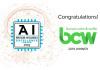 BCW obtiene el 2019 Artificial Intelligence Excellence Award