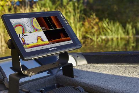 Garmin's new ECHOMAP Ultra series features larger, brighter screens, built-in Panoptix LiveScope sup ...
