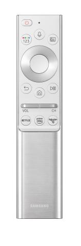 Rakuten TV's button on Samsung Electronics' remote control. (Photo: RAKUTEN TV)