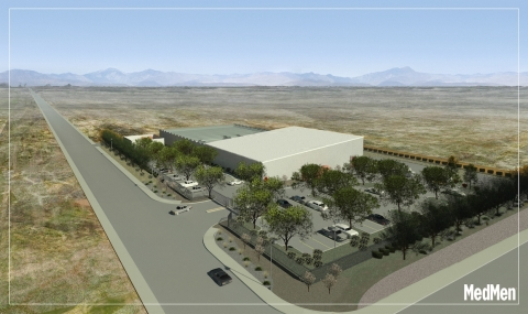 Rendering of Desert Hot Springs facility (Graphic: Business Wire)
