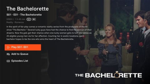 """""""The Bachelor,"""" """"The Bachelorette,"""" and """"Bachelor in Paradise"""" comes to world's largest free movie and television streaming series Tubi on April 1. (Photo: Business Wire)"""