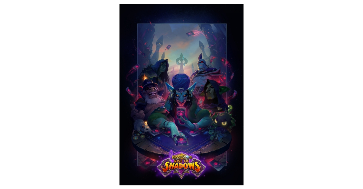 It's Good to Be Bad in Rise of Shadows™—Coming to Hearthstone® April