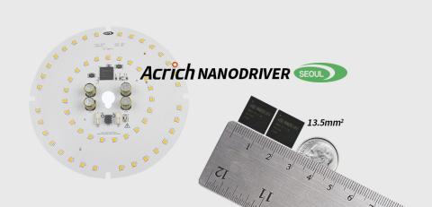 Die patentierte Acrich NanoDriver-Technologie von Seoul Semiconductor (Grafik: Business Wire)