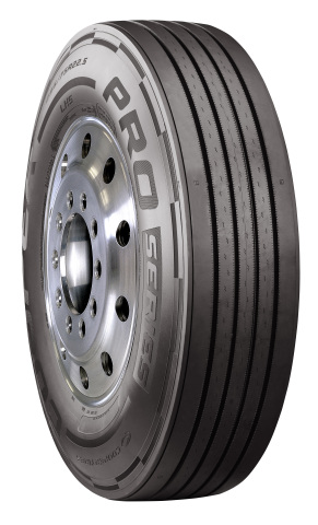 Cooper's new PRO Series long haul steer (LHS) tire offers low cost of ownership through long miles to removal, fuel efficiency, and design elements to help ensure uniform wear and retreadability. (Photo: Business Wire)