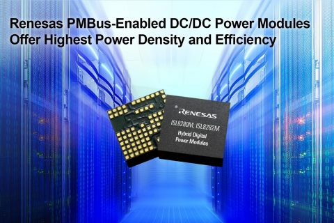 Renesas PMBus-Enabled DC/DC Power Modules Offer Highest Power Density and Efficiency (Graphic: Busin ...