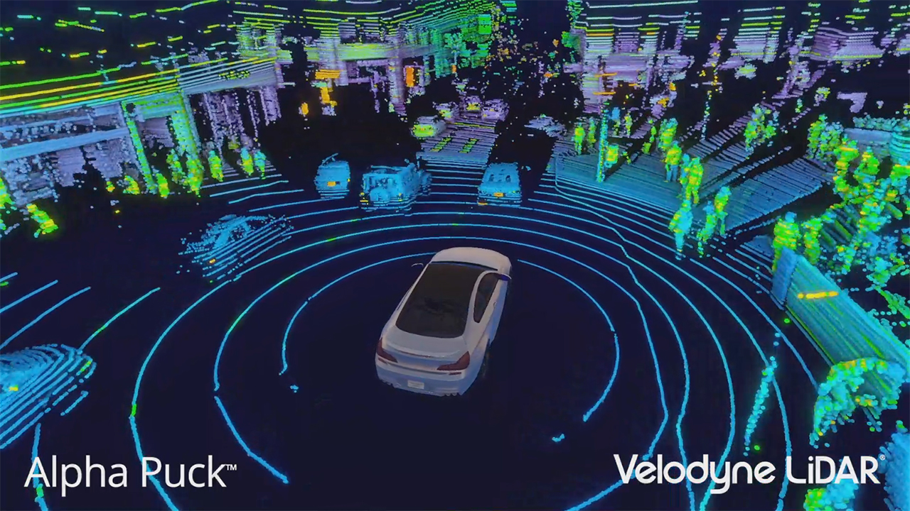 "Perfect for Level 4-5 autonomy, the Velodyne Alpha Puck™ produces an image best described as ""stunning,"" with the highest resolution data set in the world."