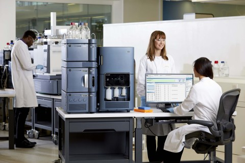 Also making its Pittcon debut is the recently introduced BioAccord™ System, a purposefully-designed liquid chromatography-mass spectrometry solution that will expand access to high-resolution time-of-flight mass spectrometry capabilities to more scientists. (Photo: Business Wire)