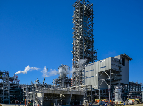 The Sasol petrochemical complex in Westlake, Louisiana. (Photo: Business Wire)