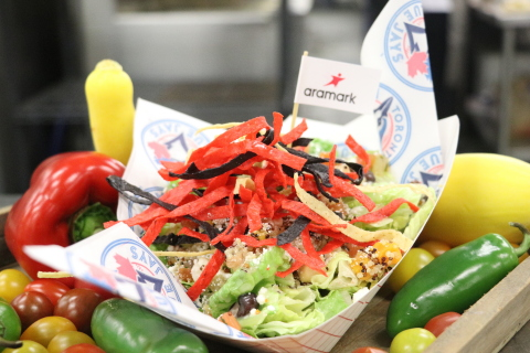 Aramark, the award-winning food and beverage partner of nine MLB teams, is unveiling its 2019 ballpark menu highlights, full of new takes on ballpark favorites and better for you options, like this Southwest Inspired Caesar Bowl, from Rogers Centre. (Photo: Business Wire)
