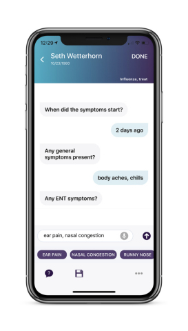 Sopris Assistant is a fully automated digital assistant that enables clinicians to complete documentation in 45 seconds or less – while they walk from one exam room to the next. (Photo: Business Wire)