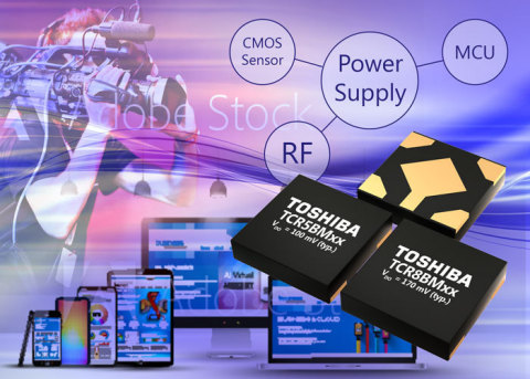 Toshiba: Artist's impression of TCR5BM and TCR8BM series. (Graphic: Business Wire)