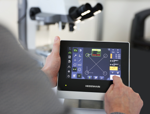 HEIDENHAIN's New QUADRA-CHEK 2000 for 2-D Measurement for Parts Inspection (Photo: Business Wire)