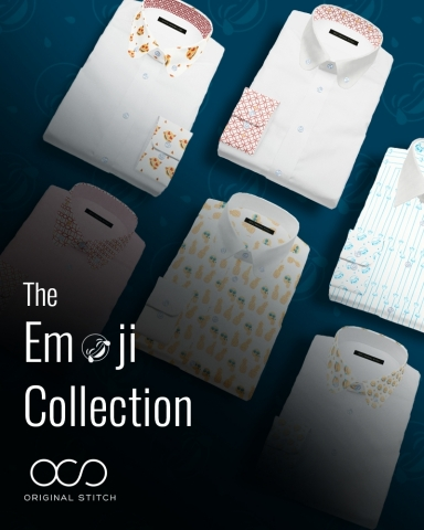 The First Ever Emoji Patterned Collection By Original Stitch Is Here! (Graphic: Business Wire)
