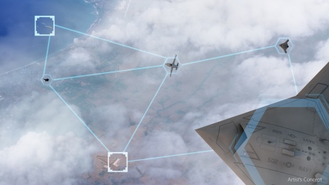 BAE Systems is developing autonomy software to improve the resiliency of air mission planning for the military to improve situational awareness in complex air battlespaces. (Photo: BAE Systems)