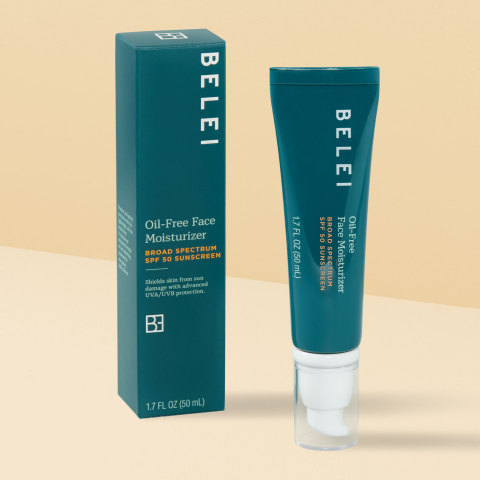 Belei Oil-Free Face Moisturizer SPF 50 (Photo: Business Wire)