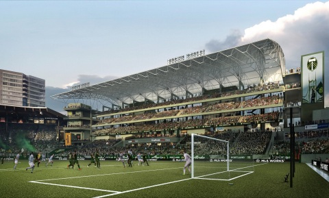 The Portland Timbers and Portland Thorns FCS professional soccer clubs select Leyard and Lighthouse ...