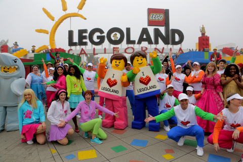 LEGOLAND® California celebrates its 20th birthday! Since opening its doors in 1999 with 12 rides and Miniland U.S.A., North America's first LEGOLAND theme park has grown into a multi-day destination with more than 60 rides, shows and attractions, a 10-acre water park, two-story aquarium and two interactive LEGO® themed hotels.  (Photo: Business Wire)