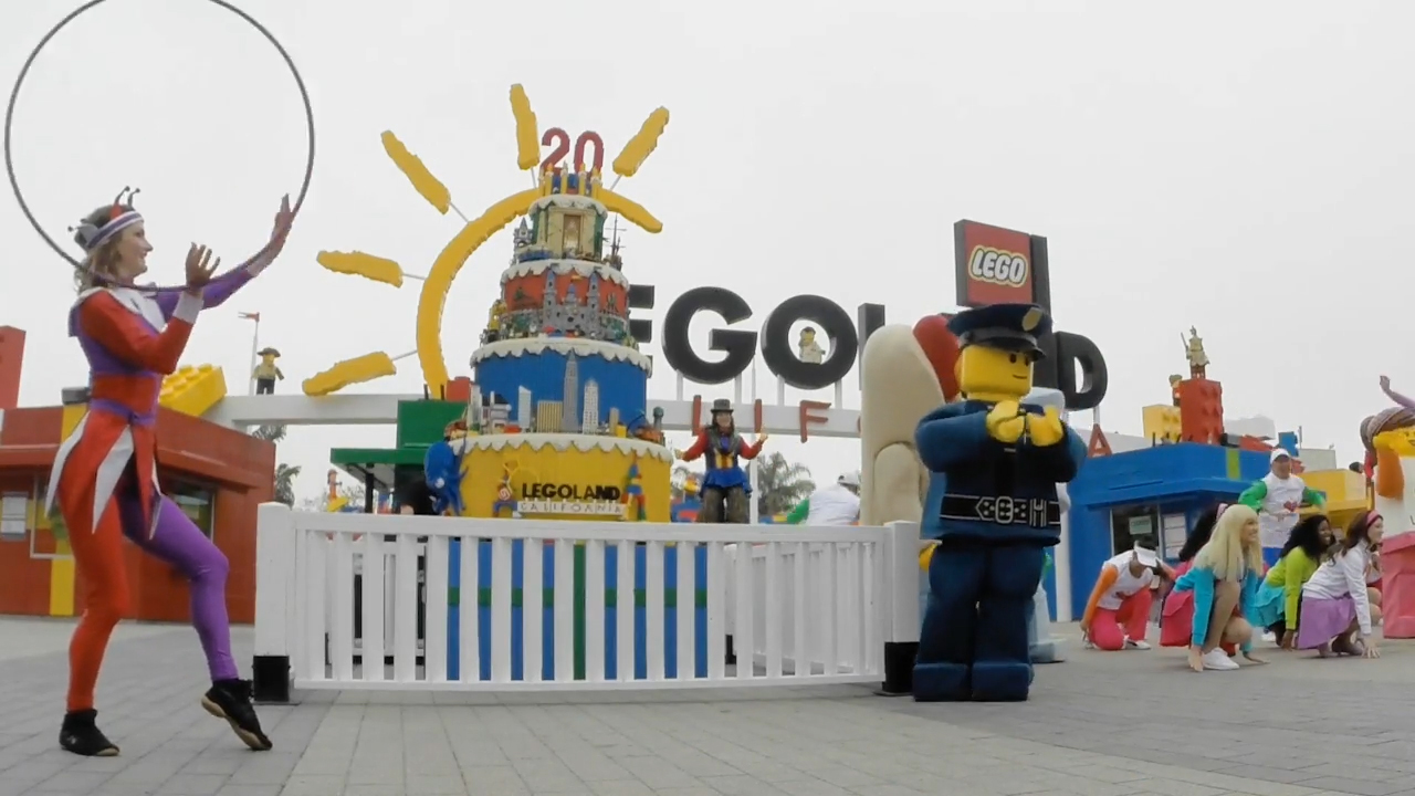 LEGOLAND® California celebrates its 20th birthday during a special Park opening ceremony and is giving kids ages 2-12 free admission on their birthday all year long!