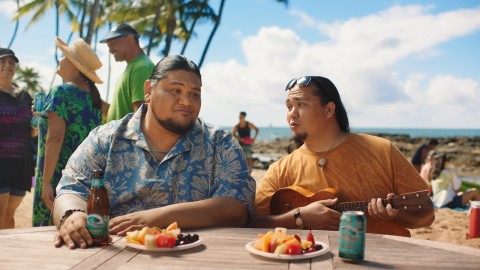 New ads from Kona Brewing Co. remind viewers to connect with what matters most (Photo: Business Wire)