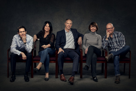 Dudnyk leadership team includes Christopher Tobias, PhD, President; Laurie Bartolomeo, EVP, Creative Director; Drew Desjardins, EVP, Chief Strategy Officer; Annemarie Armstrong, EVP, Director of Client Services; John Kemble, EVP, Creative Producer. (Photo: Business Wire)
