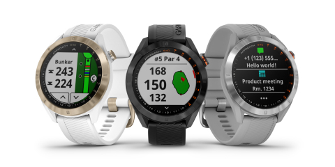Garmin® unveils the Approach® S40 GPS: A stylish everyday smartwatch for golfers (Photo: Business Wire)