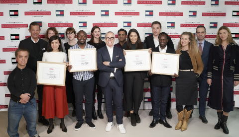 The prestigious jury panel and TOMMY HILFIGER Challenge winners at the Final Event. (Photo: Business Wire)