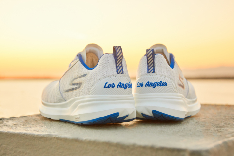 Limited edition Skechers GO RUN Ride 7™ colorway for the 2019 Skechers Performance™ Los Angeles Mara ...