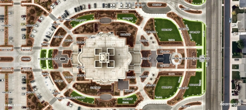 Elite Grounds turned to Nearmap to provide high-quality, aerial imagery that is frequently updated to provide the best service possible to clients. (Photo: Business Wire)