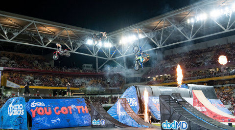 Global sports entertainment brand Nitro Circus produces action-packed tours and live events (pictured here), exciting television programming and digital content as well as premier sport competitions and more. (Photo: Business Wire)