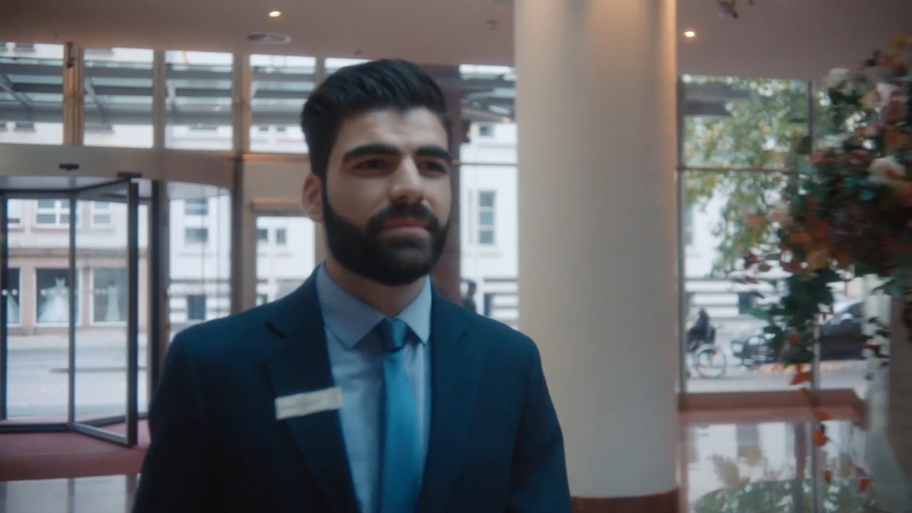 Ismaeil Dawod came as a refugee to Germany, where he found a job at Hilton Frankfurt. Now engaged in an apprenticeship program at the hotel, Ismaeil's moving story shows his determination to start his life over.